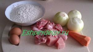 Рецепт рулетов из теста с мясом