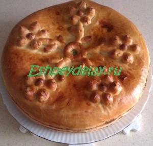 пирог с селедкой
