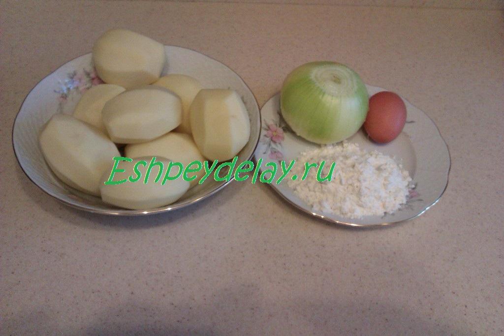 Драников из картофеля классический