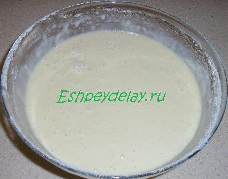 Тесто для торта Юлия