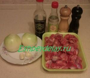 Рецепт куриных желудков по корейски