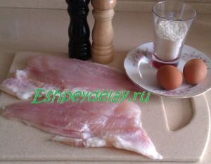 рецепт пангасиуса в кляре