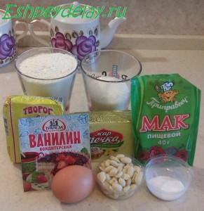 Рецепт домашнего творожного печенья