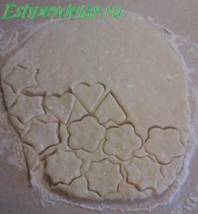 формы домашнего печенья