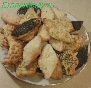 Творожное печенье домашнее