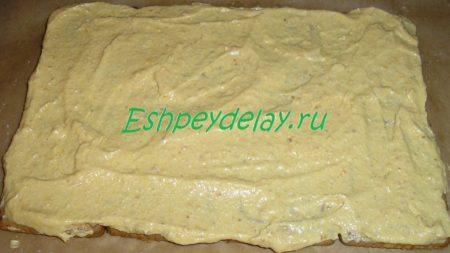 Печенье смазанное кремом