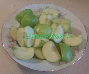 яблоки к утке