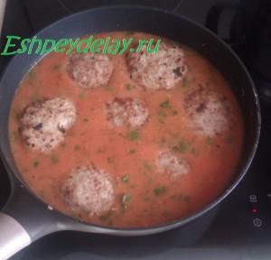 тефтели домашние в томатном соусе