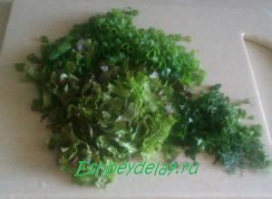 зелень для салата