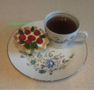 Корзиночки с ягодой