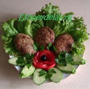 вкусные домашние котлеты из фарша с овощами