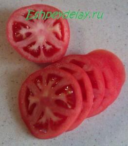 помидор кружками