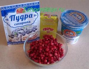 Рецепт десерта с земляникой