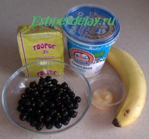 рецепт десерта из черной смородины