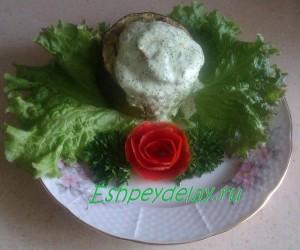 кабачек с зеленью