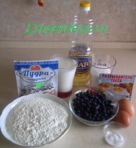 Рецепт маффинов с иргой