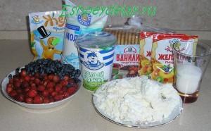 Рецепт творожно-йогуртового торта