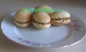 печенье с сгущенкой