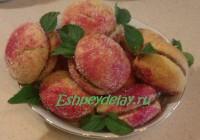 печенье персик