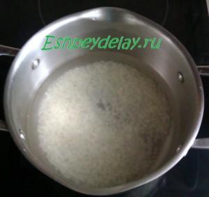 отвареный рис для фарширования утки
