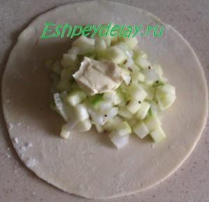 тесто с кабачком
