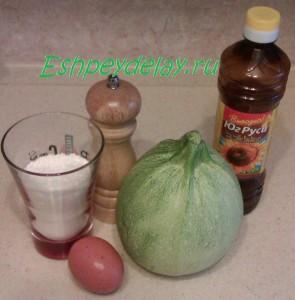 Рецепт оладьев из кабачков на сковороде