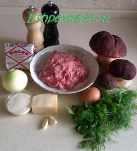 Рецепт маффинов с курицей и грибами