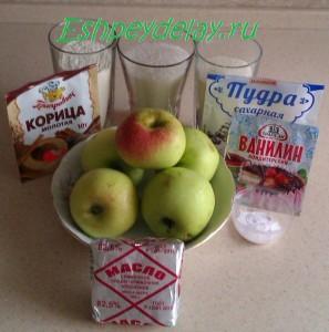 рецепт быстрого яблочного пирога