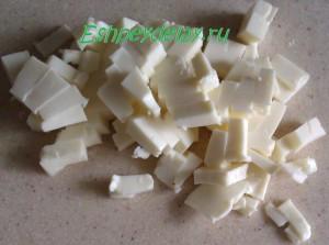 нарезанный плавленный сыр