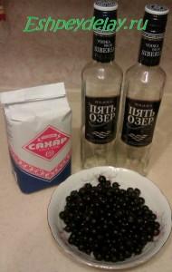 Рецепт наливки из черной смородины