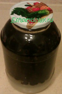 настойка из водки с черной смородиной