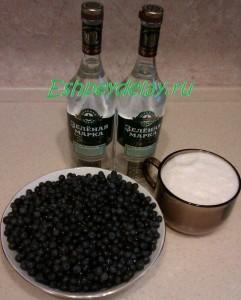Рецепт наливки из черники