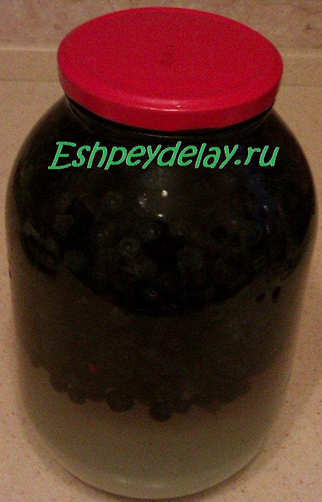 Настойка из черники в домашних условиях рецепт 200