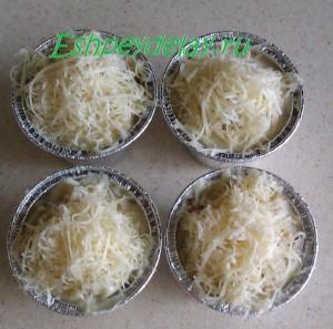 жульен с сыром в формочках