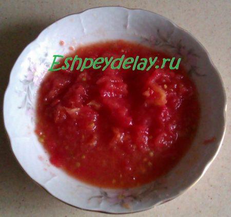 тертые помидоры