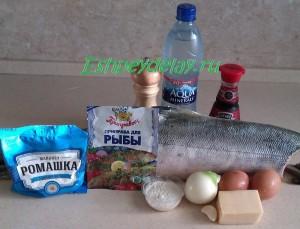 рецепт сочной кеты в духовке