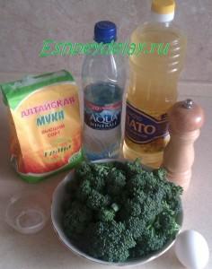рецепт капусты брокколи в кляре