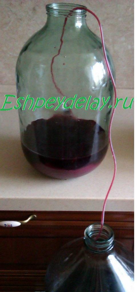 Как сделать сироп из вина