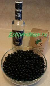 Рецепт ликёра из черноплодной рябины