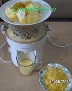 сок цедры апельсинов