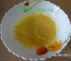 желатин в апельсиновом соке