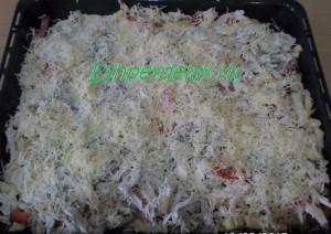 запеканка с картошкой и грибами в духовке