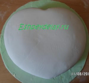 вкусный торт с мастикой