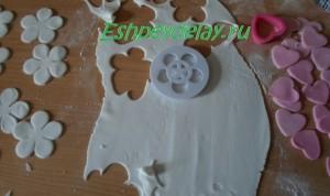 фигурки для торта из мастики