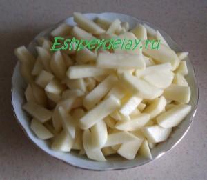 картошка для ухи