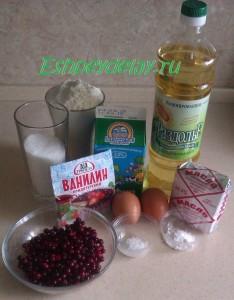 Рецепт маффинов с брусникой