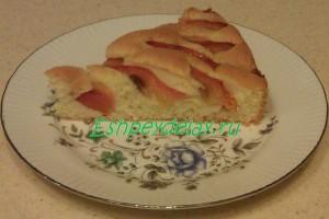 Вкусный сливовый пирог