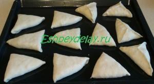 пирожки с калиной на листе для запекания
