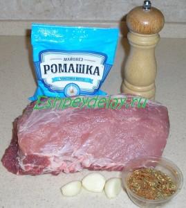 Рецепт буженины в духовке в фольге
