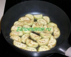 баклажаны на сковороде